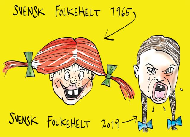 Tegning af Niels Thomsen